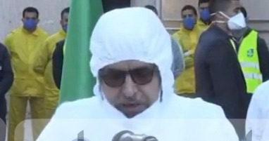 """Photo of جراد يقف دقيقة صمت على أرواح  ضحايا كورونا """"لن نتخلى عن أية أسرة جزائرية"""""""