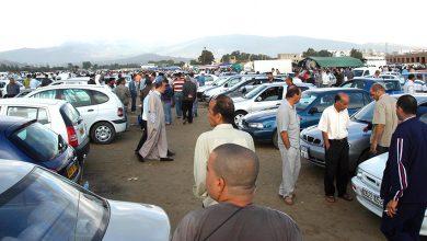 Photo of غلق سوق السيارات المستعملة بتيجلابين