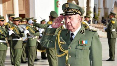 Photo of اللواء السعيد شنقريحة اليوم  بالبليدة