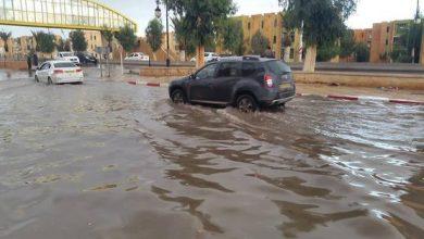 Photo of استمرار تساقط الأمطار الرعدية على المناطق الغربية والوسطى