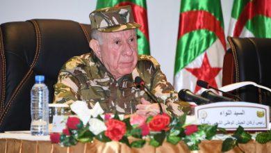 Photo of اللواء شنقريحة ينصب العميد عبد الغني راشدي مديرا عاما للأمن الداخلي بالنيابة