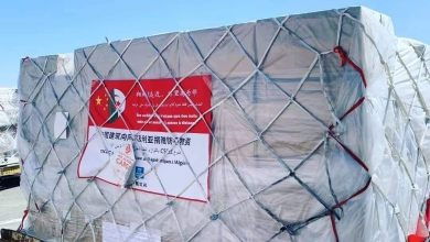 Photo of الوزير الأول يستلم الطلبية الأولى من الوسائل الوقائية ضد كورونا قادمتين من الصين