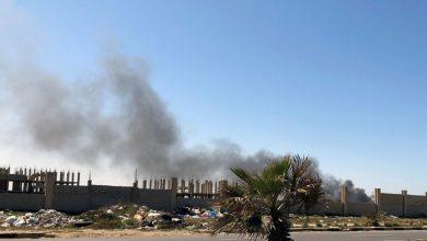Photo of أنباء عن قصف سفينة حربية تركية مواقع إلى الغرب من العاصمة الليبية طرابلس
