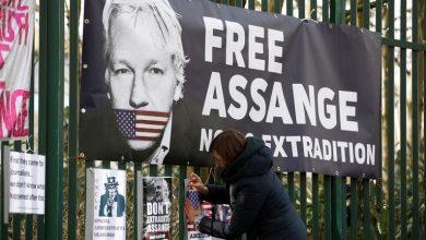 "Photo of تسجيل حالة وفاة بفيروس كورونا في سجن مؤسس ""ويكيليكس"" جوليا أسانج"