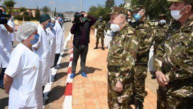 Photo of اللواء السعيد شنقريحة : «الجيش جاهز لتقديم السند للمنظومة الصحية الوطنية»