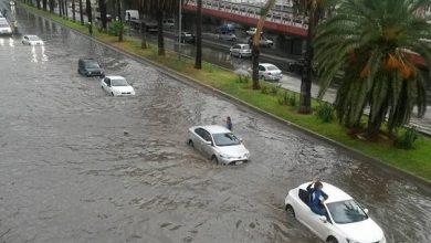 Photo of أمطار رعدية على المناطق الوسطى والغربية