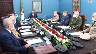 Photo of رئيس الجمهورية يترأس اجتماعا للمجلس الأعلى للأمن