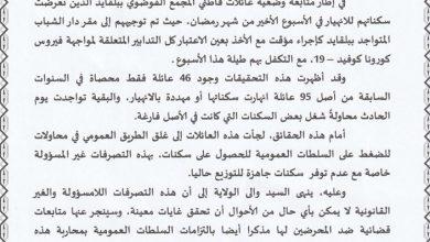 Photo of والي وهران يتوعدهم بالعدالة…….التحقيق في ملف البيوت الفوضوية ببلقايد يكشف 39 متحايلا