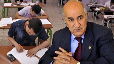 Photo of كل الإجراءات واردة … تبون يفصل في مصير الامتحانات الوطنية هذا الأحد