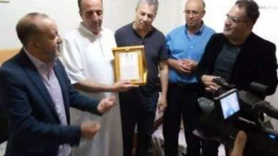 """Photo of أعيان وهران يكرمون عائلة الفنان المرحوم """"شيخ صنهاجي قنديل"""""""