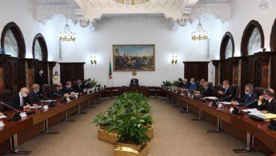 Photo of الرئيس تبون يترأس اجتماعا مع اعضاء لجنة رصد ومتابعة كورونا