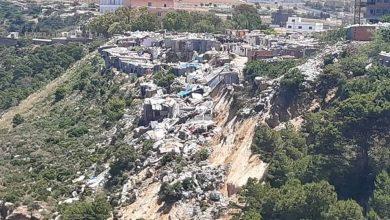 Photo of انزلاق أرضي بموقع قصديري ببلقايد ببلدية بئر الجير