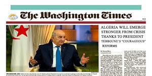 """Photo of الشريط حول الحراك … واشنطن تايمز توقعت """"ردا"""" من وسائل الاعلام المنزعجة من مساعي الرئيس"""
