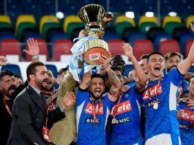 Photo of نابولي يتوج بكأس إيطاليا بهزمه يوفنتوس
