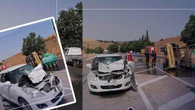 Photo of إصابة امرأتين في تصادم سيارتين بوهران