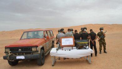 "Photo of وزارة الدفاع… حجز كمية ضخمة من "" الكيف المعالج"" بالنعامة"