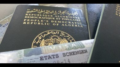 Photo of القنصل الفرنسي بالجزائر:الجزائريون الذين لم يتمكنوا من استخدام تأشيراتهم بسبب الأزمة الصحية سيتم منحهم تأشيرات جديدة دون دفع تكاليف تجديدها