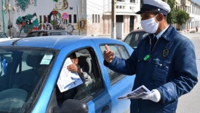 Photo of إرتداء الكمامة داخل السيارة إجبارية … هكذا رد عميد شرطة رشيد غزلي