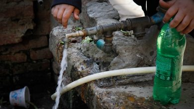 "Photo of شرق وهران بدون مياه بعد كسر مفاجئ بقناة ""الماو """