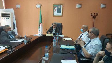 Photo of بن بوزيد يعقد اجتماعا طارئا مع مدراء مستشفيات العاصمة حول الوضعية الوبائية