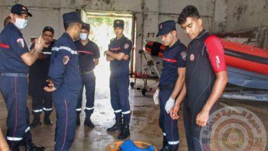 Photo of وهران..إنتشال جثة غريق على ساحل منطقة صخرية بكانستيل