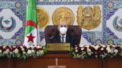 Photo of اللواء عمر تلمساني، قائدا للناحية العسكرية الرابعة، خلفا للمرحوم اللواء حسان علايمية