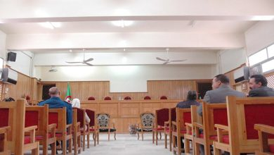 """Photo of النائب العام لدى مجلس قضاء معسكر السيد محبوبي نورالدين للديوان:  """" المؤسسات العقابية لم تسجل  أي إصابة بين السجناء بفيروس كورونا """""""