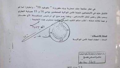 Photo of والي الجلفة يأمر بسحب رخص تنقل الأشخاص ويمنع منح ترخيص