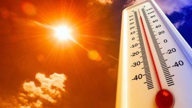 Photo of درجات الحرارة تصل 43 بالمناطق الشمالية وتتعدى 45 غرب الوطن ابتداءً من الإثنين