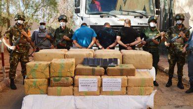 "Photo of حجز حوالي 22 قنطار من ""الكيف"" وربع 250 مليون في النعامة وبشار!"