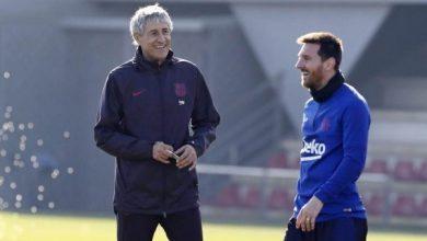 Photo of أول تعليق لمدرب برشلونة على رحيل ميسي !