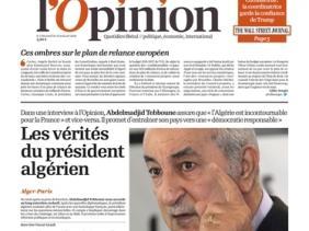 Photo of الرئيس تبون: يمكن للجزائر و فرنسا المضي قدما بعد تجاوزهما مشاكل الذاكرة