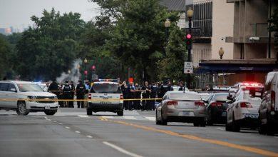 Photo of تزامن مع المؤتمر الصحفي للرئيس… الخدمة السرية تعتقل شخصا إثر إطلاق نار أمام البيت الأبيض