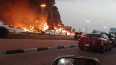 Photo of الإمارات تكشف أسباب الحريق الضخم لسوق عجمان