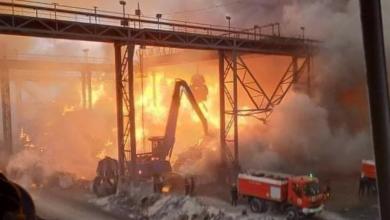 Photo of مصنع توسيالي: لاخسائر مادية أو بشرية جراء الحريق المندلع