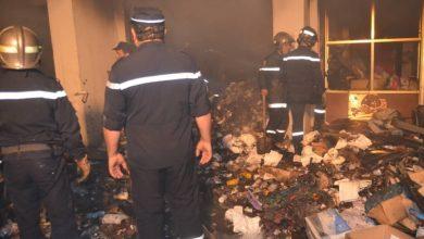 Photo of نشوب حريق في مستودع للأغطية والأفرشة بحاسي بونيف بوهران