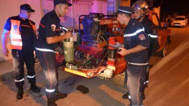 Photo of نشوب حريق بمستودع لتخزين المواد الطبية وشبه الصيدلانية في بئر خادم