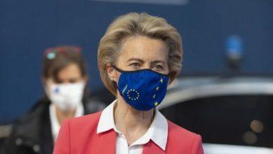 Photo of رئيسة المفوضية الأوروبية تعلن دخولها الحجر الصحي