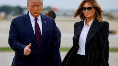 "Photo of ترامب وزوجته ميلانيا يصابان بفيروس ""كورونا"""