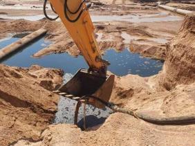 "Photo of تسرب بأنبوب النفط بتقرت: تسرب كميات ""قليلة جدا"" من البترول"