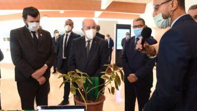 Photo of رئيس الجمهورية يزور معرض المؤسسات الناشئة بالمركز الدولي للمؤتمرات