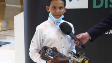 Photo of وائل حمديني.. صاحب 10 سنوات يخترع حذاءً ذكيا يحمي المكفوفين من الحوادث