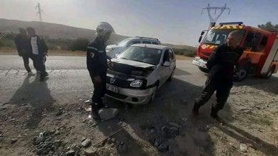 Photo of الشلف: جريح في إصطدام سيارة بدراجة نارية بواد أسلي