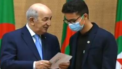 Photo of الرئيس تبون يُكرم أبطال العالم في المسابقة الدولية للروبوت بكوريا الجنوبية