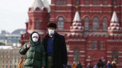Photo of روسيا تسجل 186 وفاة و9412 إصابة جديدة بفيروس كورونا