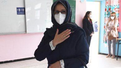Photo of بمدرسة أحمد عروة في العاصمة…. حرم الرئيس عبد المجيد تبون تنتخب بالوكالة عنه