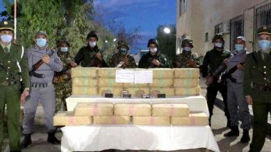 Photo of تم إدخالها عبر الحدود مع المغرب في خلال أسبوع… توقيف 45 تاجر مخدرات وضبط كميات ضخمة من الكيف المعالج