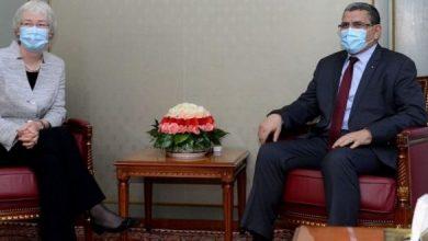 Photo of الوزير الأول عبد العزيز جراد يستقبل سفيرة ألمانيا بالجزائر