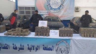 Photo of مستغانم: توقيف شبكة دولية لتهريب المخدرات وحجز أزيد من 150 كلغ من الكيف المعالج