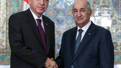 Photo of رئيس الجمهورية يتلقى مكالمة هاتفية من نظيره التركي رجب طيب أردوغان